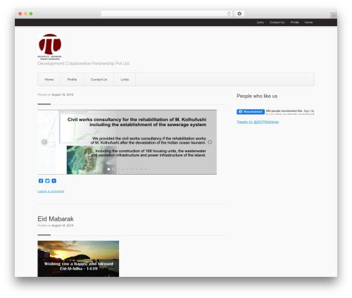 Aviator WordPress theme download - devcopartners.biz