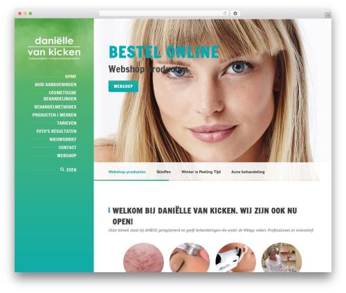 BeautySpot template WordPress - daniellevankicken.nl