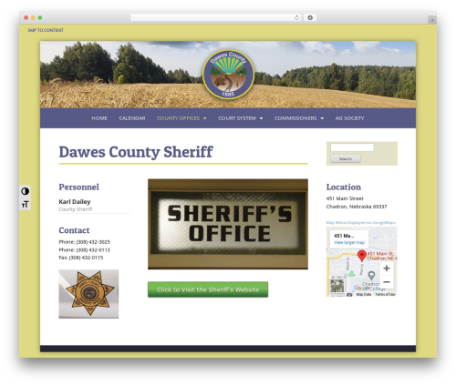Free WordPress Royal Scroll to Top plugin - dawes-county.com/county-offices/sheriffs-office