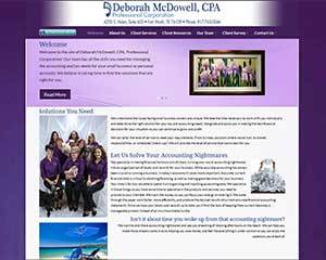 DmcDowell WordPress theme