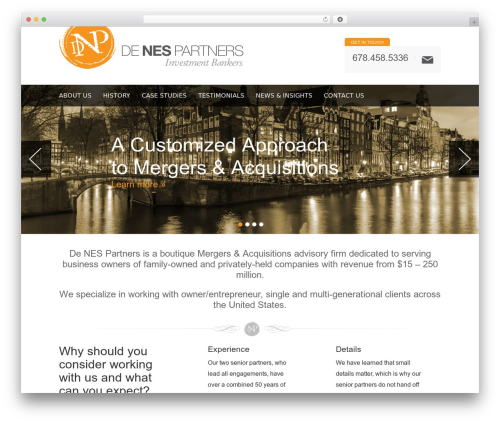 WordPress share-this plugin - denespartners.com