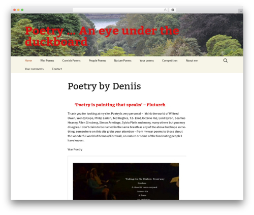 Twenty Thirteen theme WordPress free - deniis.com