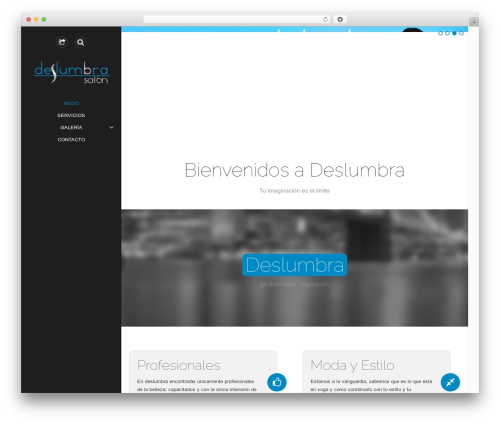 WordPress template ePix - deslumbra.com.mx