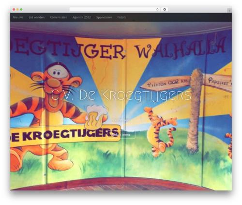 Arcade Basic WordPress template free download - dekroegtijgers.nl