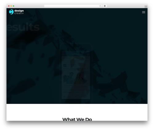 Maven best WordPress template - designcreativ.ro