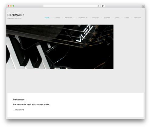 Neo WP template - darkviolin.com