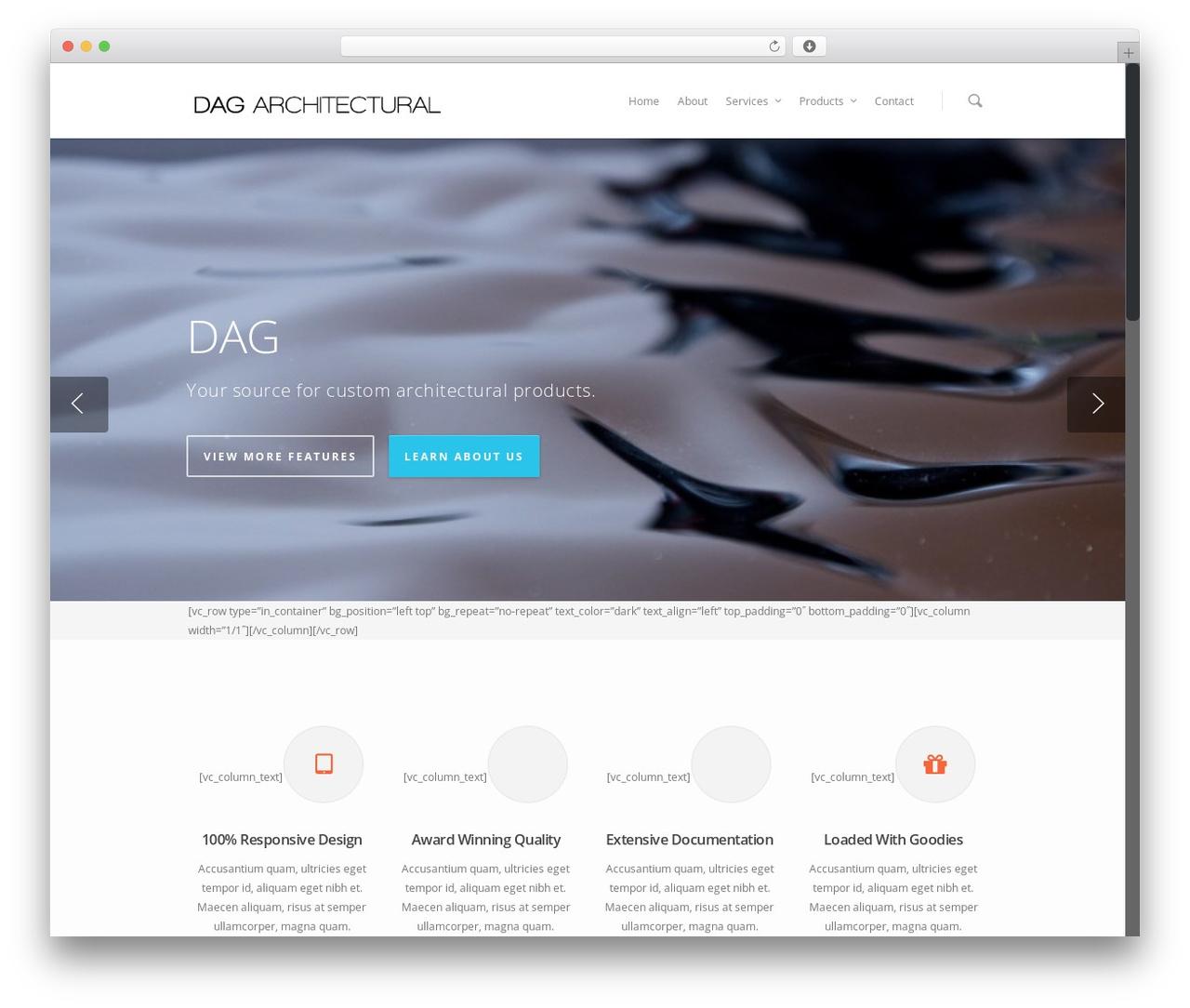 Salient WP template - dag-architectural.com