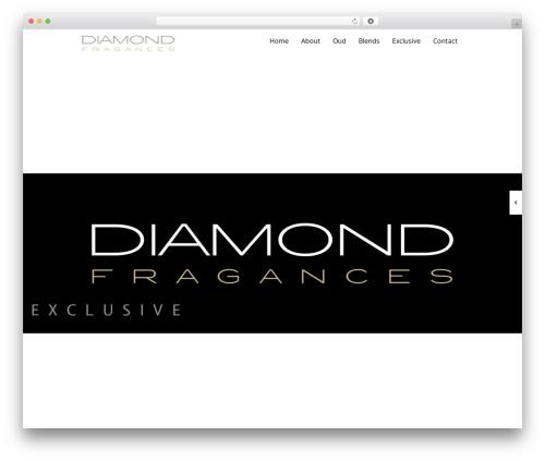 Black Label WP template - diamondfragrances.com