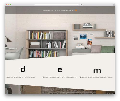 cherry best WordPress theme - dembarcelona.com