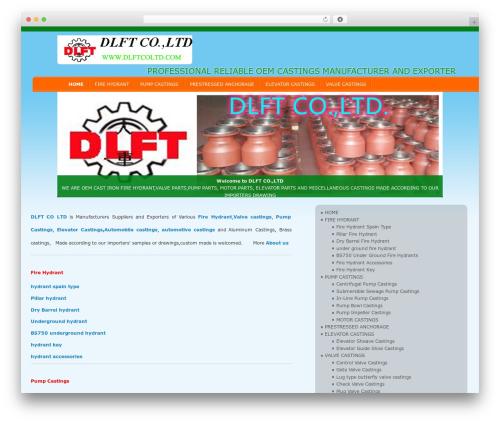 D5 Socialia free WordPress theme - dlftcoltd.com
