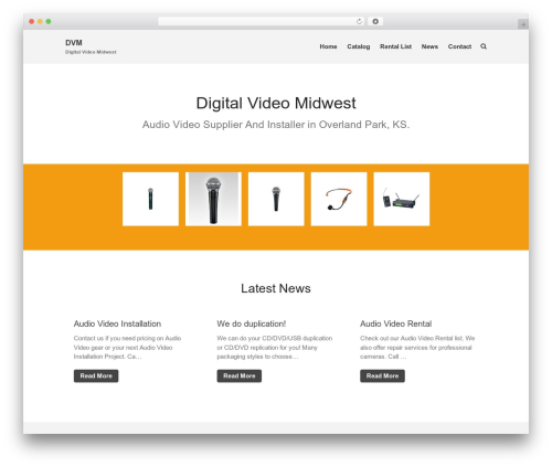 Layers best WordPress template - digitalvideomidwest.com