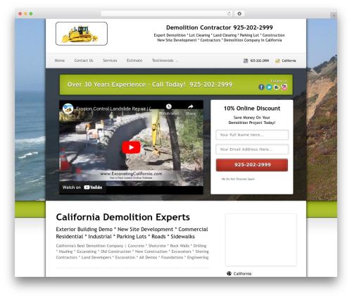 Local Lead Arsenal theme WordPress - demolitioncalifornia.com