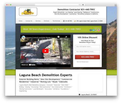 Local Lead Arsenal WP template - demolitionlagunabeach.com