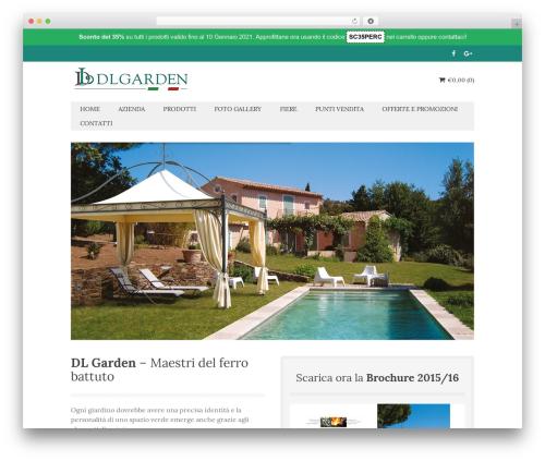 Micron landscaping WordPress theme - dlgardensrl.it