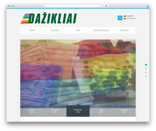 Theme WordPress Unity - dazikliai.com