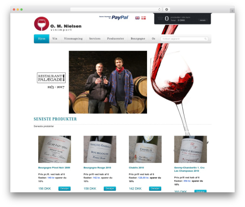WordPress theme Mazine - da.omnielsen.dk