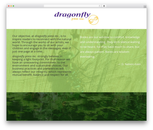 Best WordPress template Divi - dragonflypress.ca