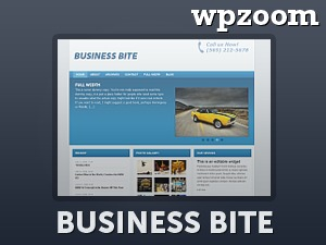 Business Bite WordPress template for business