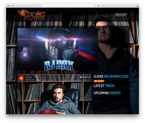 Clubber [Shared By http://www.themes24x7.com/] top WordPress theme - djdaxmusic.com