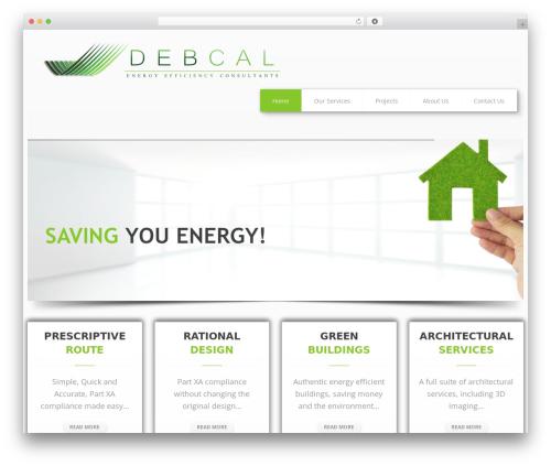Klasik WordPress template - debcal.co.za