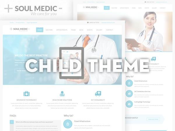 Soulmedic - CHILD THEME WordPress template