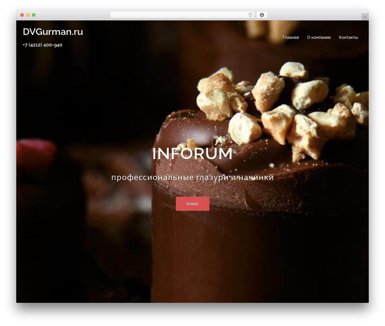 Sydney free WordPress theme - dvgurman.ru