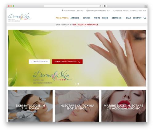 Free WordPress TablePress plugin - dermaskin.ro