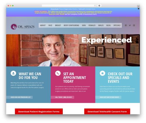 Theme WordPress Doctor+ - drapesos.com