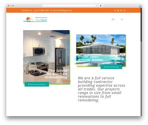 WordPress theme C7 Creative - dermanhomes.com