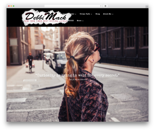 WordPress theme Divi - debbimack.com