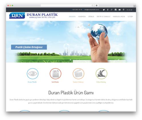 Avada WordPress theme - duranplastik.com.tr