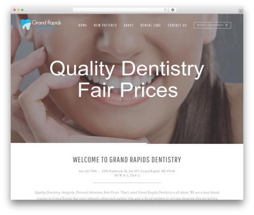Bridge theme WordPress - dentistgr.com