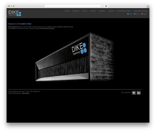 Klasik top WordPress theme - dike-engineering.com