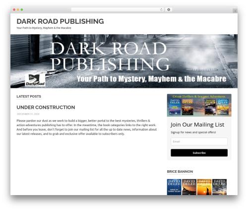 Poseidon free WordPress theme - darkroadpub.com