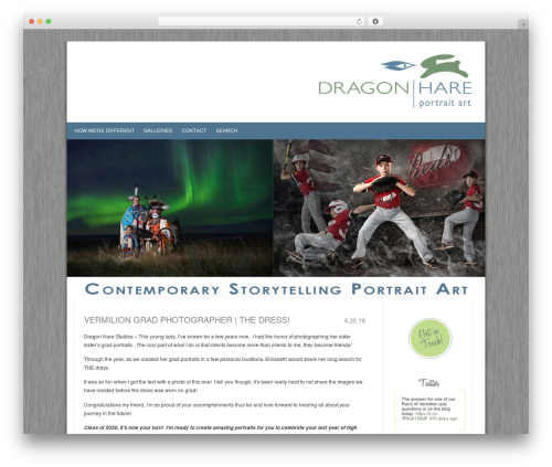 ProPhoto best WordPress gallery - dragonhare.com