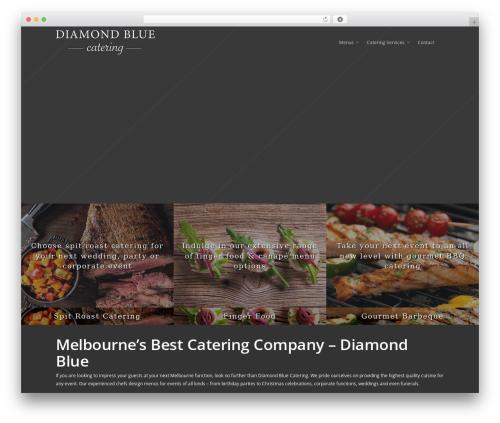 Salient WordPress theme - diamondbluecateringmelbourne.com.au