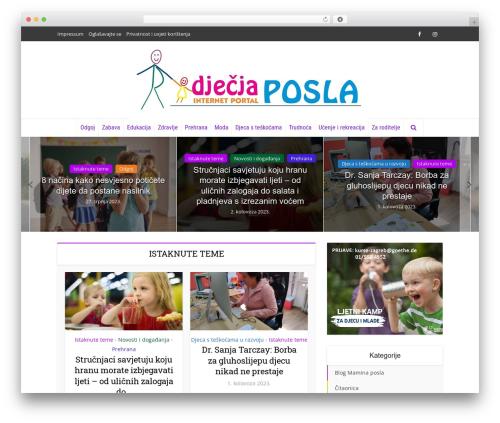 Free WordPress Meks Smart Social Widget plugin - djecjaposla.com