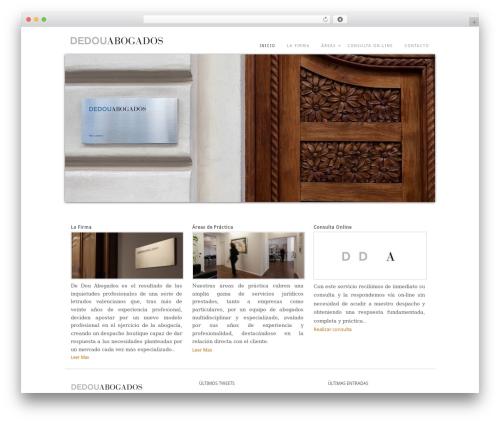 WordPress theme Impero Premium - dedou.es