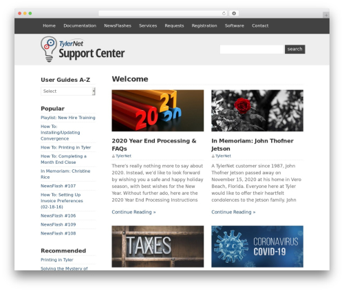 WP-Brilliance theme WordPress - docs.tylernet.com