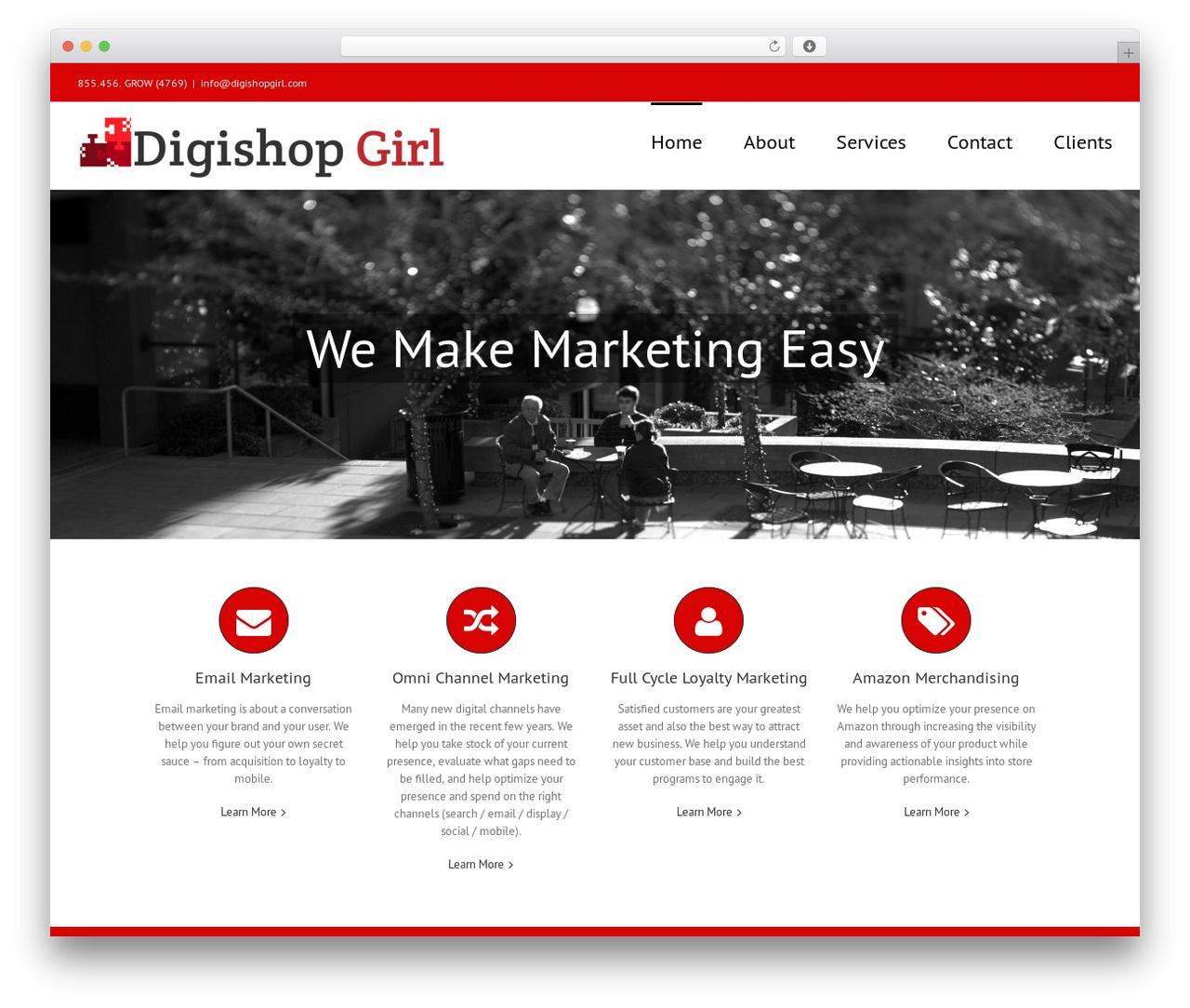 Avada WordPress ecommerce theme - digishopgirl.com