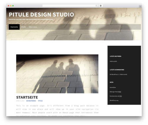 Best WordPress template Subtle - digigraphy.biz