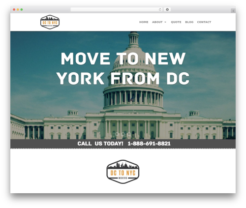 Hexic - Multipurpose One Page Responsive WP Theme best WordPress template - dc-to-nyc.com