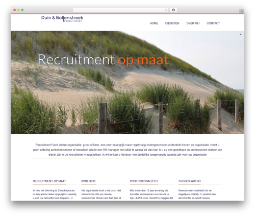 Nimva template WordPress - duinenbollenstreekrecruitment.com