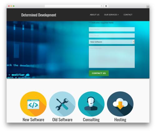 PerSempre WordPress theme design - determineddevelopment.com