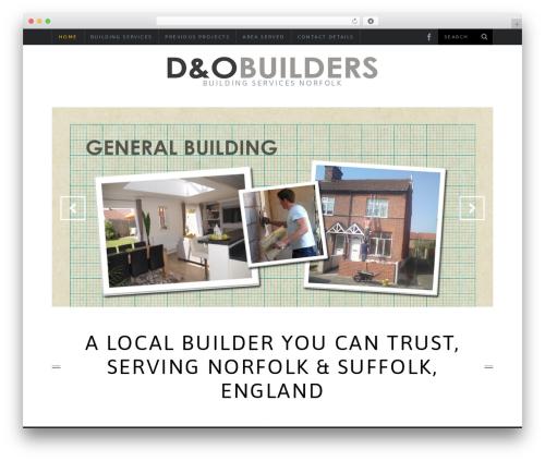 Theme WordPress SimpleMag - dandobuilders.co.uk