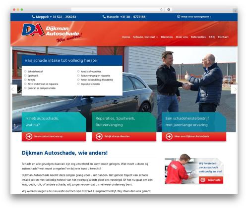 WordPress theme Aquila - dijkmanautoschade.nl