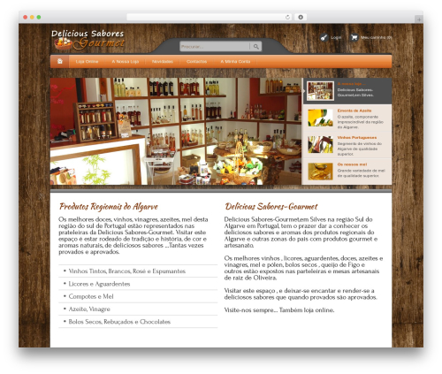 Bellissima WP template - delicious-sabores-gourmet.com