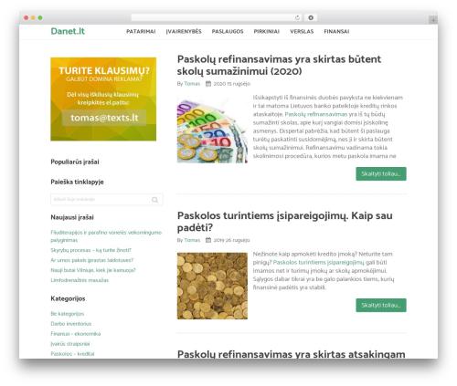 Sensational by MyThemeShop WordPress ecommerce template - danet.lt