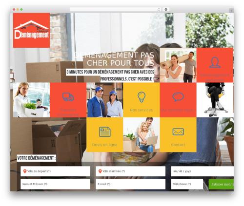 WordPress website template Argo - demenagement-pas-cher.com