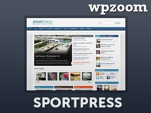Best WordPress theme SportPress